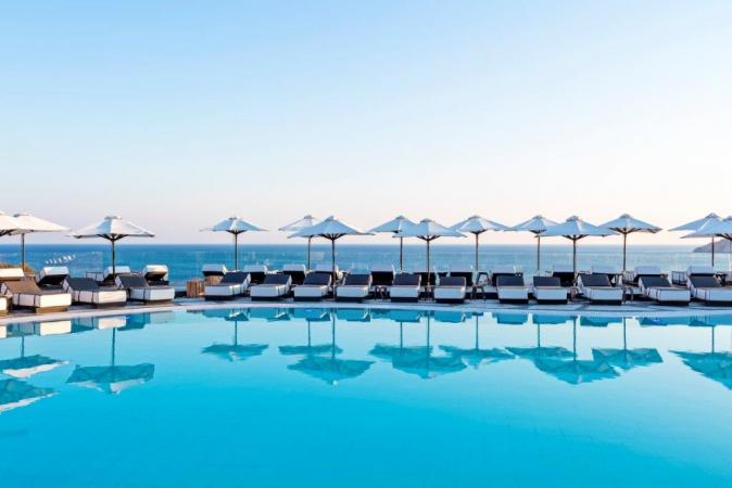 Pesach resort and spa on Mykonos Island-Greece